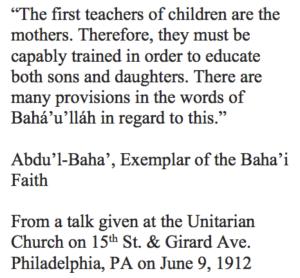 women-the-first-teachers
